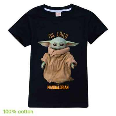 Maglietta da Uomo Greatest in The Galaxy Star Wars The Mandalorian in Cotone Colore: Nero