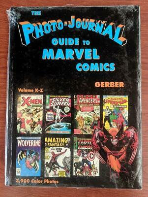 Photo Journal Guide to Comic Books HC 2-1ST NM 1990 Stock Image