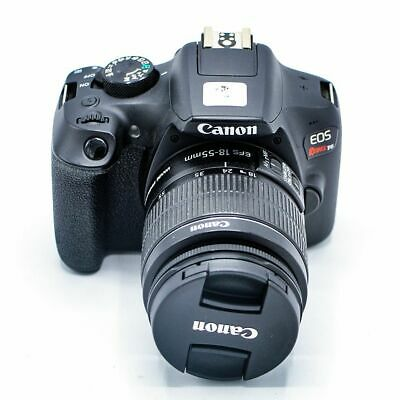 Canon EOS Rebel T6 18.0 MP Digital Camera with EF-S 18-55mm IS II Lens - Black