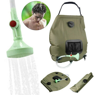 Portable Outdoor Shower Handheld Rechargeable Camping Showerhead USB F7M3