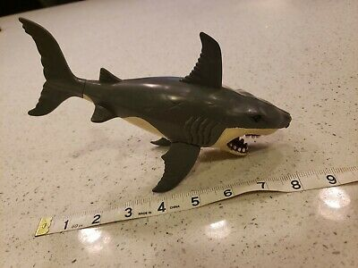 Mojo Animal Planet 20cm GREAT WHITE SHARK solid plastic toy wild FISH sea NEW