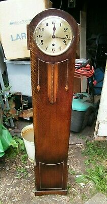 Antique Grandmother Clock Westminster Chiming/Striking  Ex Condition Runs Well