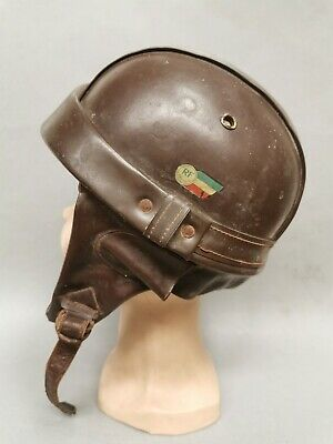Beau Casque Bol Vintage Breveté RF . moto collection vespa solex terrot scooter