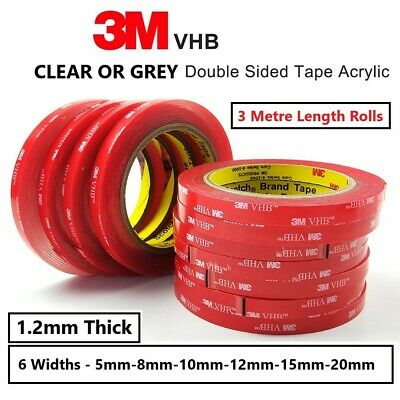 3M Double Sided Tape VHB Strong Adhesive Mounting Tape 3M Sticky Tape Pads Roll