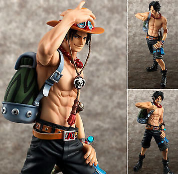 Limit IN STOCK Anime One Piece POP Portgas D Ace PVC Figure 10th Limited Ver