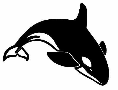 Size #423 Killer Whale Orca Decal Sticker Choose Pattern