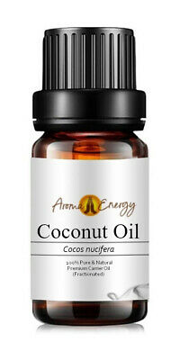COCONUT Oil - 100% Pure Natural Aromatherapy Carrier Base Oil - 10ml