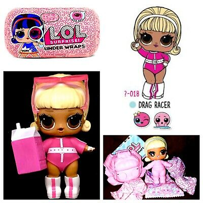LOL Surprise Dolls SPF QT UNDER WRAPS POP Series 4 Big Sisters Toy Girl Gift