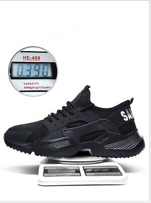 WOMEN PPE LADIES MENS ULTRA LIGHTWEIGHT STEEL TOE CAP SAFETY WORK SHOES SIZE6-11
