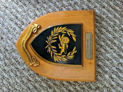 Kings Own Royal Border Regiment Military Shield Wall Plaque Clock