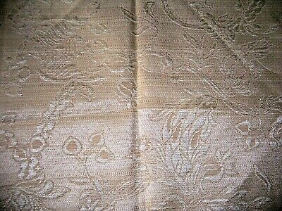 woven  fabric material remnant fat quarter gold