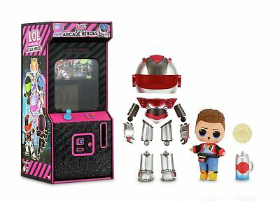 LOL Surprise Boys Arcade Heroes – Action Doll with Surprises