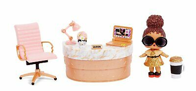 LOL Surprise furniture with Boss Queen Doll
