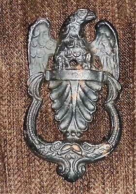 Cast Iron Antique Victorian Style AMERICAN EAGLE Door Knocker