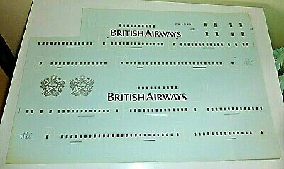 Desk Display Model Aircraft Silk Screen Decal Large Scale C130 Squadron crests
