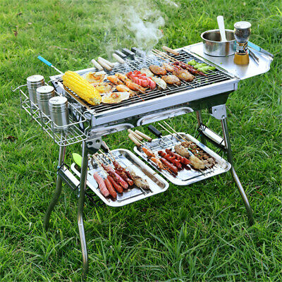 Relags folding grill XL One Size Silver