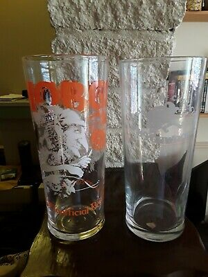 HOBGOBLIN BEER 100/% RECYCLED! ALE CHALICE GLASS GOBLET WYCHWOOD BREWERY