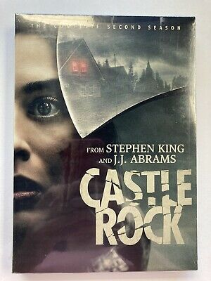 Castle Rock: The Complete Second Season Dvd  New From Stephen King  Horror-New