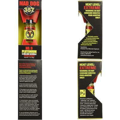 Mad Dog 357 Plutonium 9 Million Scoville Pure Pepper Extract Extreme Hot Sauce 99 79 Picclick