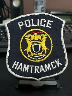 HAMTRAMCK MICHIGAN MI Police Reserve POLICE PATCH
