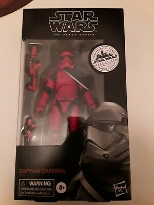 Star Wars BLACK SERIES Captain Cardinal (Target Exclusive) NEW/SEALED - 6 Inch