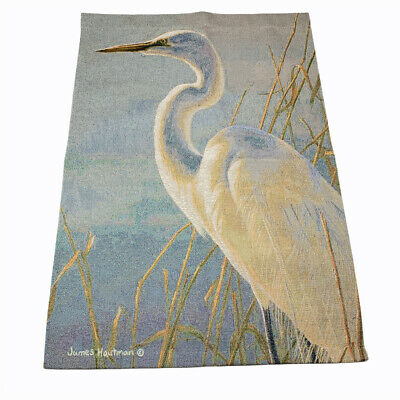 Heron on Dry Earth Bird Design Hippie Tapestry Wall Hanging Decor Multiple Size