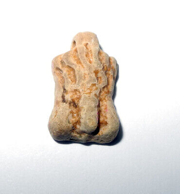 PTOLEMAIC ERA EGYPT - ANCIENT FAIENCE PHALLIC pendant, circa 100 BC to 100 AD