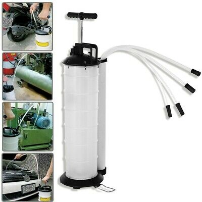Manual 7 L Oil Fluid Changer Vacuum Extractor Pump Transfer Tank Remover FAST