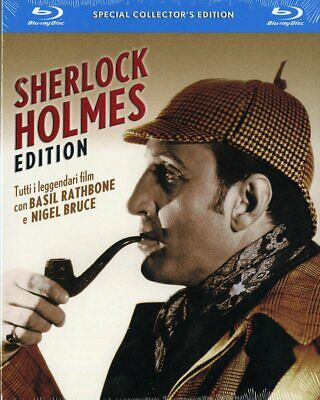 Sherlock Holmes: The Complete Basil Rathbone Collection | New | Sealed | Blu-ray