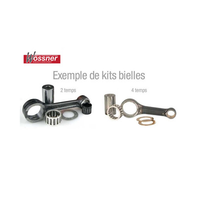WOSSNER - Kit Bielle Compatible Yamaha Yz85 02-17