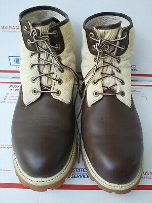 Timberland Roll Top 6 Inch Ankle Boots  Men 27080 9040 Rugged Sole- Size 12 M