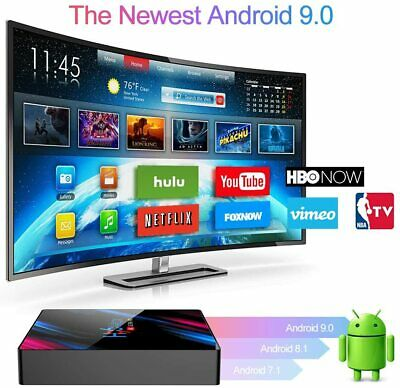 Jiqu H96 Max Android 9.0 Tv Box Smart Media Box 4Gb Ram 32Gb Rom Rk3318
