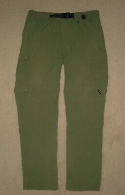 BOY SCOUTS Of America SWITCHBACK Uniform Pants CARGO Convertible Men 2XL Relaxed