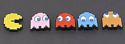 Awesome PAC Man Ms.PAC Man Set Of 5 Shoe charms For Your Crocs