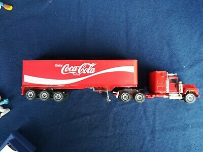 Camion Truck TIR Coca Cola anni 80/90 made W. Germany