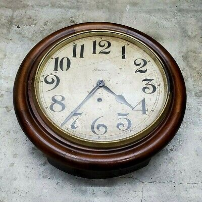Antique Ansonia Wall Clock Offered For Restoration