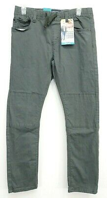New Signature Levi Boys Relaxed Taper Comfy Stretch Denim Pull On Jeans 16 Reg