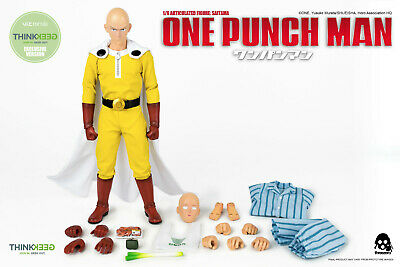 Action Mode  Toy F Collect Dasin Model 1:12 Saitama PVC Figure One Punch Man
