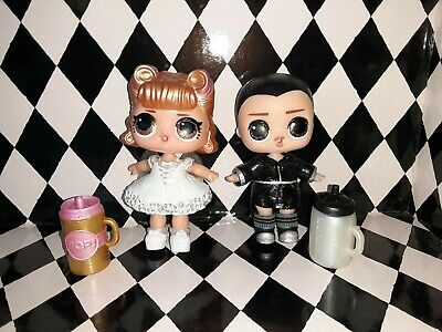 LOL Surprise Supreme Bffs Glitter Doll Lace and Leather Limited Edition 2 Pack