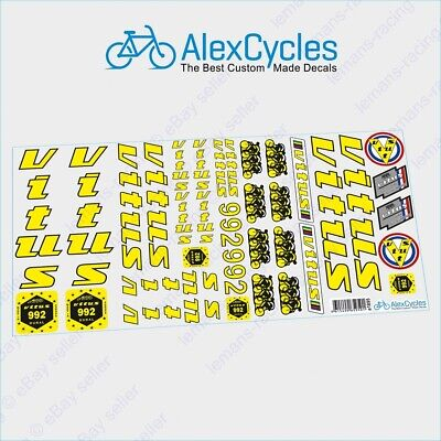 Vintage Style BENOTTO Olympic Restoration Decals Flags Yellow ST Kit Stickers