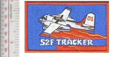 France Air Attack Securite Civile Fire Crew S2-F Tracker Patch Marignane Airbase