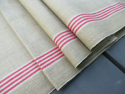 Unused Vintage Linen Manglecloth Tablecloth Mangle Cloth  35 inch by 3.2 Yards