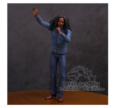 Bob Marley Music Legends Jamaica Singer /& Microphone PVC Action Figure Collectib