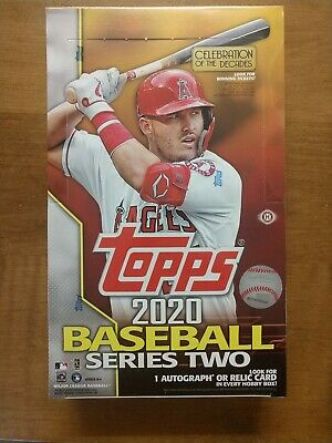 2020 Topps Series 2 Baseball Factory Sealed Hobby Box