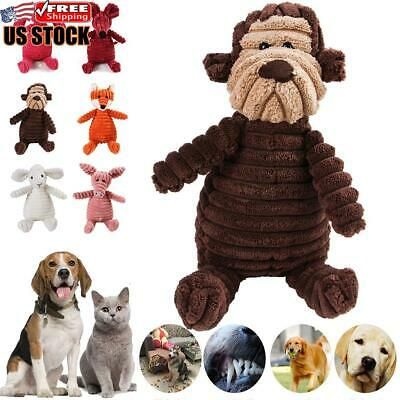 Dog Chew Toy Squeaky Plush Dog Toy For Aggressive Chewers With Chew Pet Toys
