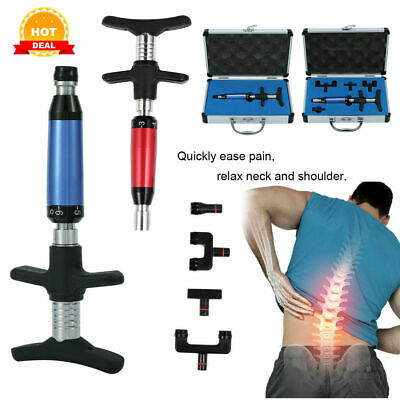 1/4 Heads Correction Massager Chiropractic Adjusting Tool Therapy Spine Electric