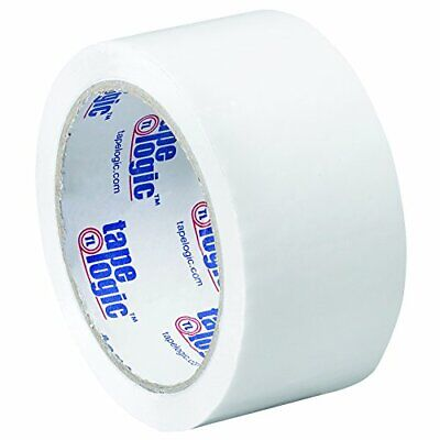 Tape Logic 2 Inch x 55 Yards White Packing Tape 2.2 Mil Thick Pack of 36 Roll...