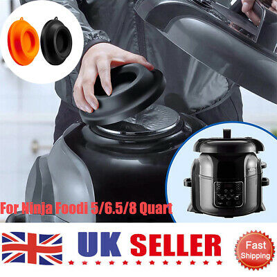 Silicone Lid Stand Space Saving Hanging Hole Pressure Cooker For Ninja Foodi UK