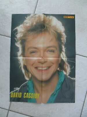 POP Rocky Superposter von David Cassidy + Skip aus Heft 12/1985