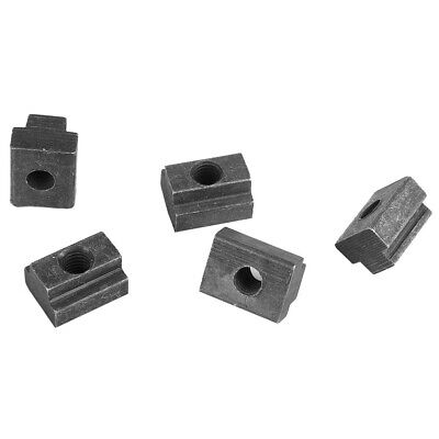 5pcs Oxide Finish T Slot Nuts M6//8//10//12 Threads T-slots In Machine Tool TableXD